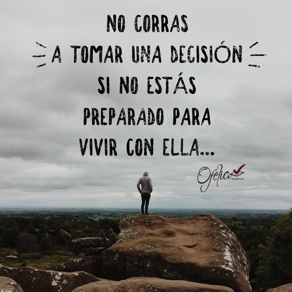 Decisiones…